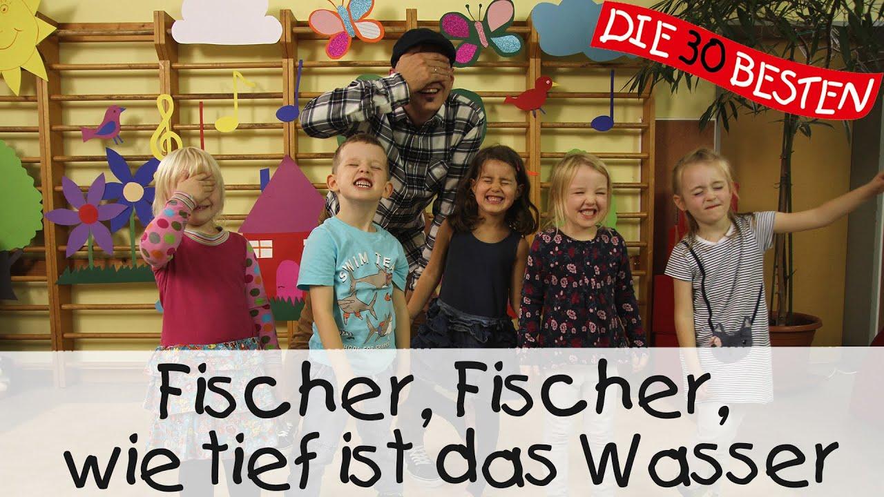 Download Fischer, Fischer, wie tief ist das Wasser - Singen, Tanzen und Bewegen    Kinderlieder