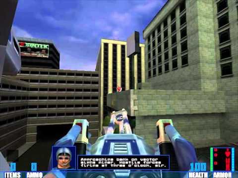 SiN Initial Gameplay (1998, Ritual Entertainment)