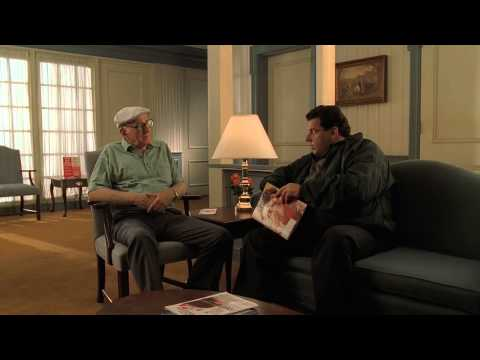 The Sopranos - Junior doing business in Doctor's lobby
