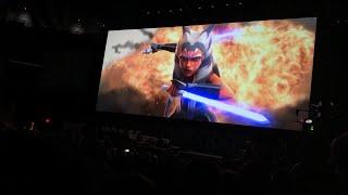 Star Wars The Clone Wars Season 7 Celebration Chicago Trailer Reaction| Crowd Reaction!