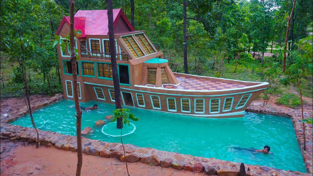 Update a boat villa house beautiful & Beautiful Swimming Pool