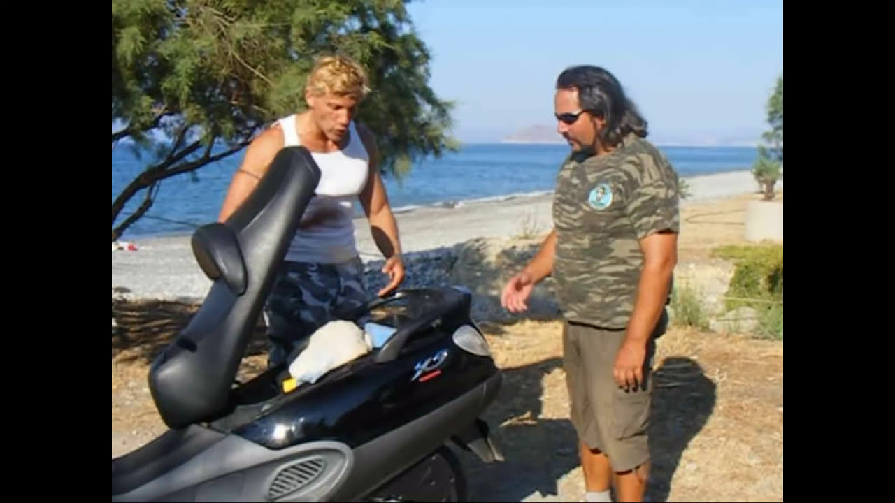 piaggio x9 250 2006.kokkina fegria test - youtube