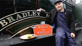 Driver Uses Steam Engine To Cook Meals