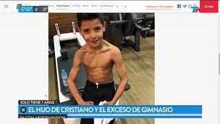 Video: Hijo de RONALDO: Adicto al GYM
