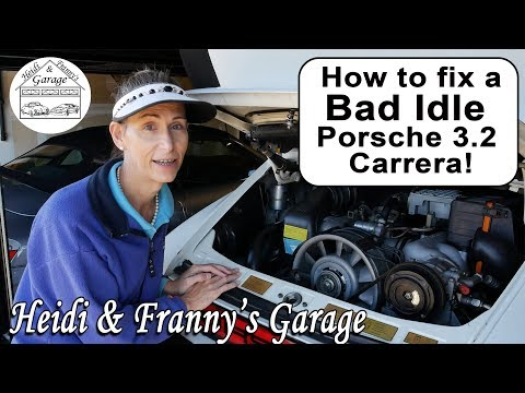 How To Fix A Bad Cold Idle In The Porsche 3.2 Carrera! (DIY)