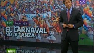"""reportaje de arica """"el carnaval no alcanza"""""""