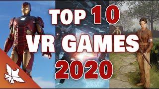 Top 10 Vr Games 2020 (oculus Rift, Vive, Psvr) | Phoenixeb