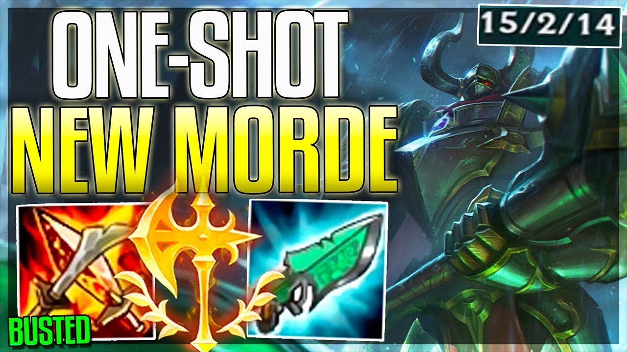 This ONE-SHOT build on New Morde is 100% Stupid wtf? - Full AP Mordekaiser  Rework Gameplay - LoL