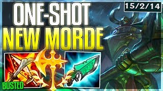 Download lagu This ONE SHOT build on New Morde is 100 Stupid wtf Full AP Mordekaiser Rework Gameplay LoL MP3