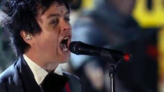 Green Day Rock and Roll Hall Of Fame, Public Hall, Cleveland, Ohio, USA Performance