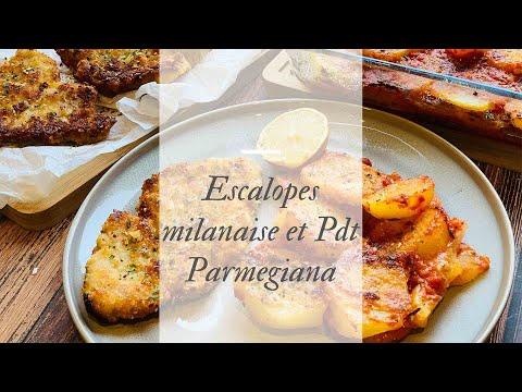 escalope-milanaise-🇮🇹-et-pommes-de-terre-parmigiana