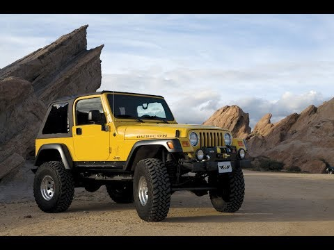 How To: Correctly Install a Jeep TJ Rampage Tailgate Bar