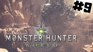 Monster Hunter World PL #9 - WIELKA ZASADZKA NA ZORAHA | PC 1080P gameplay po polsku