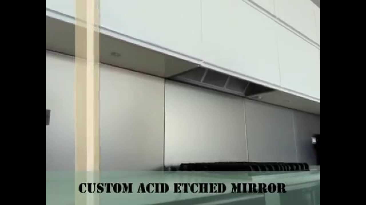 bronze acid etched mirror kitchen glass backsplashes nyc youtube bronze acid etched mirror kitchen glass backsplashes nyc