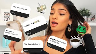 ANSWERING YOUR ASSUMPTIONS ABOUT ME.... I'M RICH?!?💸