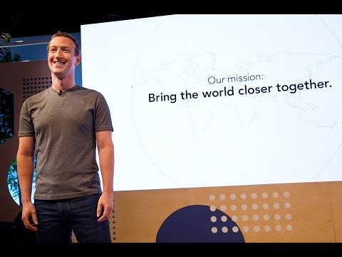 Mark zuckerberg Live video from the Facebook Communities Summit in Chicago