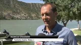 Campamento de pesca Alemán en Mequinenza. Aragón Noticias.
