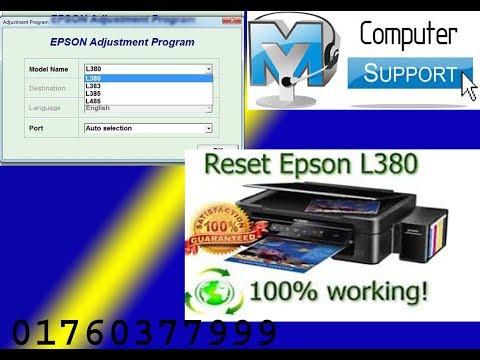 Full Download] Epson L380 Adjustment Program Keygen Multi Pc