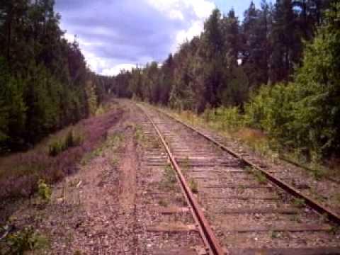 Eura Hylätty rautatiekisko