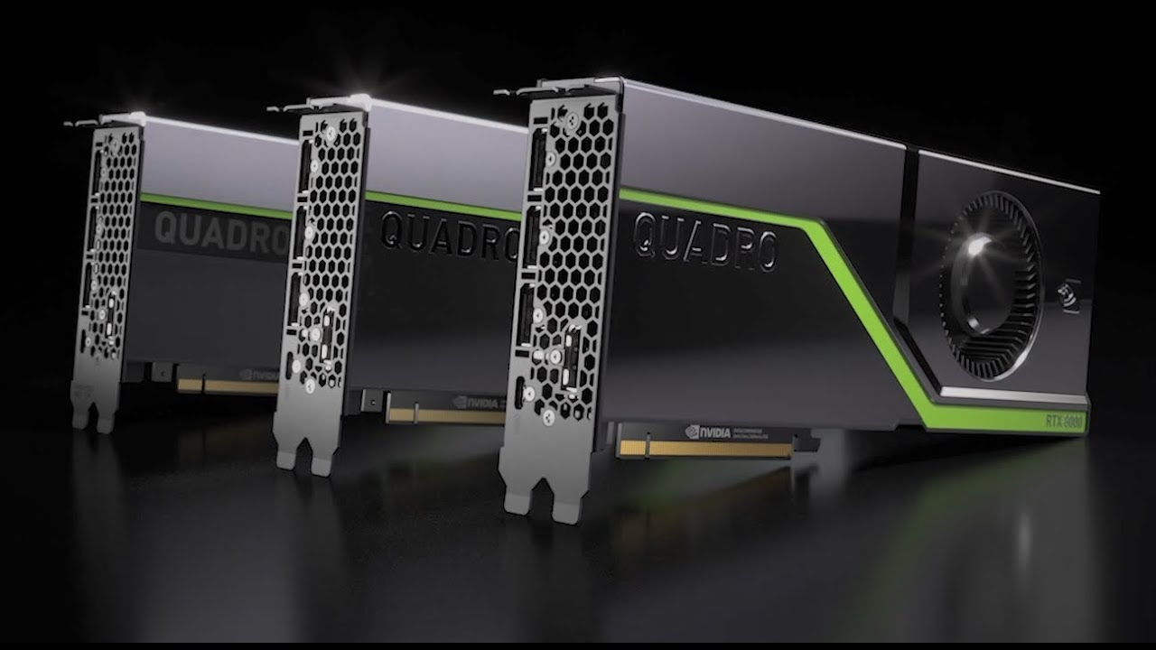 NVIDIA Quadro RTX - The Creative Freedom You Imagined