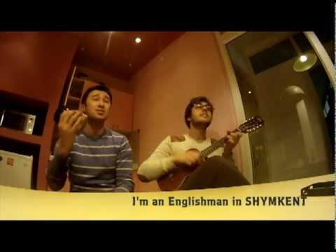 Son Pascal and Anuar Nurpeisov- Englishman in Shymkent