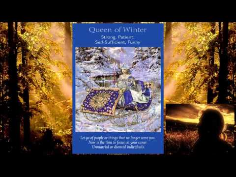 "Fairy Tarot - Queen of Winter ""Time For You to Fly"""