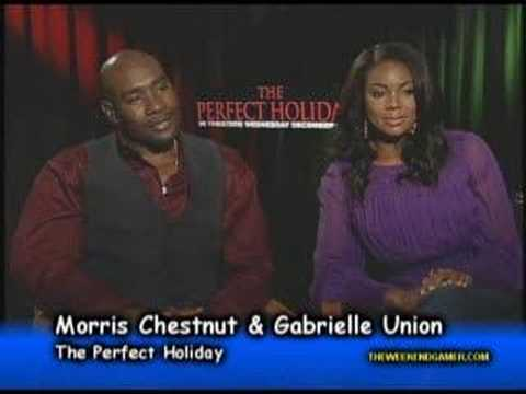Gabrielle Union & Morris Chestnut The Perfect Holiday
