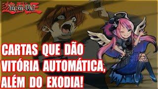 CARTAS QUE DÃO VITÓRIA AUTOMÁTICA - YU-GI-OH! INSTANT WIN