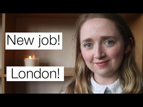 I moved to London for a new job!  // Life update!