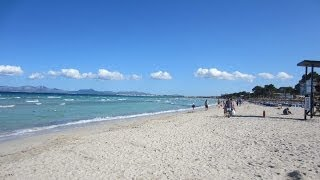Mallorca 2014 - Playa de Muro - Lagotel