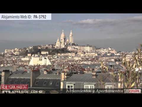 Visita Virtual De Un Apartamento De 2 Dormitorios En Gare Du Nord, París