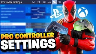 Best Controller Settings For Fortnite.. (SEASON 2)