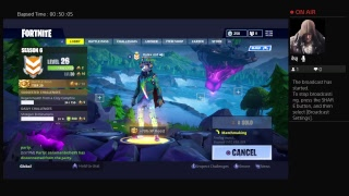 LIVE FORTNITE Dj Yonder skin (Dj Llama) looking for a victory royale