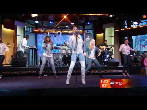 Ciara - Never Ever - 05.04.09 Good Morning America / Live Music Video 4.05.2009 HD