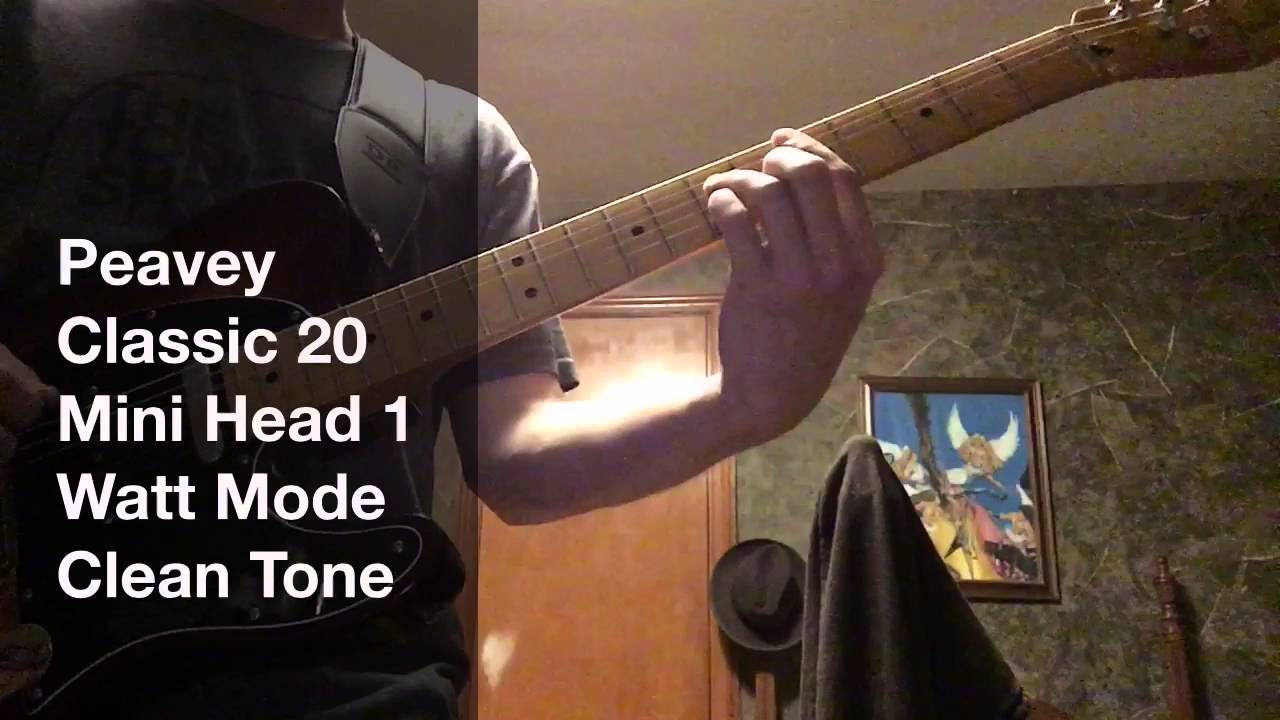 improv monday 3 late night chicken pickin 39 peavey classic 20 mh clean tone demo youtube. Black Bedroom Furniture Sets. Home Design Ideas