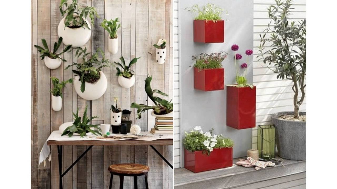 Small garden pots ideas - YouTube