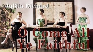 O Come All Ye Faithful (Acapella w/ Lyrics and Free Sheet Music)