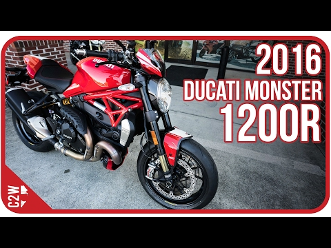 2016 Ducati Monster 1200R | First Ride
