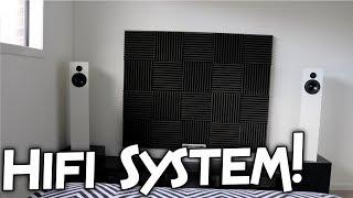 BEDROOM HIFI SYSTEM!