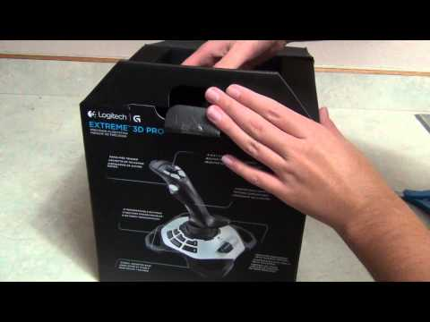 logitech-extreme-3d-pro-usb-joystick-unboxing