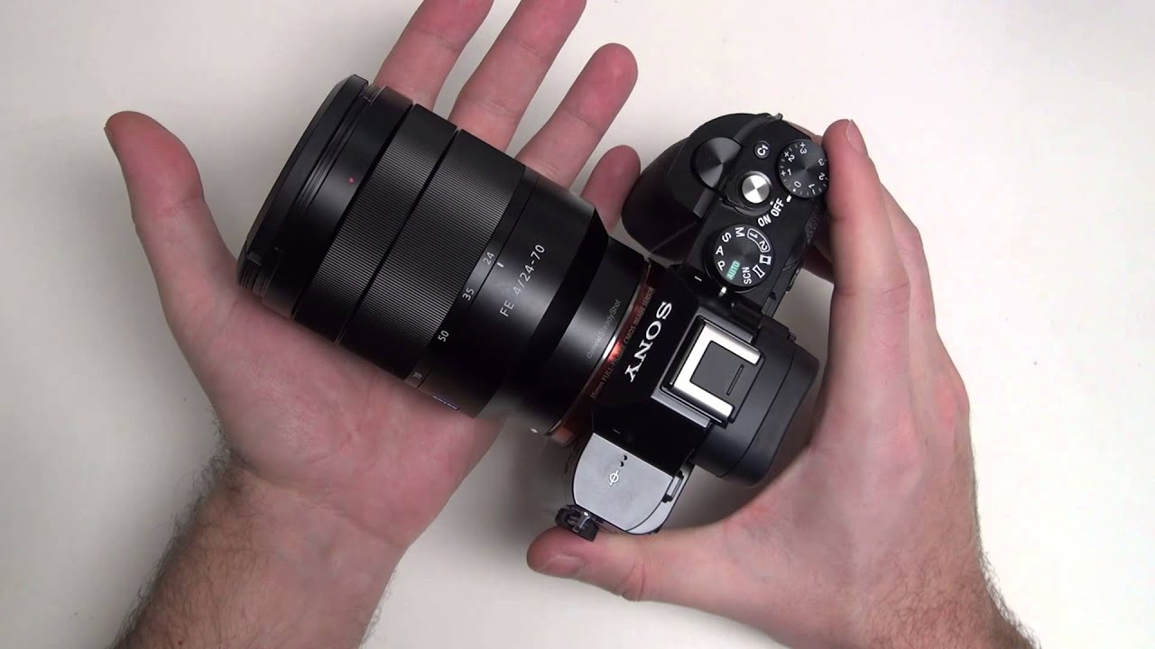 Объектив Sony SEL-2470Z FE 24-70 mm F/4.0 ZA OSS for NEX*