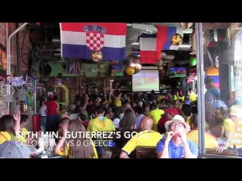 2014 World Cup Colombia vs Greece reaction video