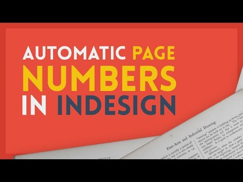 Automatic Page Numbers | Adobe InDesign Tutorial thumbnail
