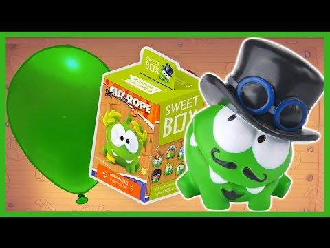 Видео: Ам Ням. СВИТ БОКС. Sweet Box. Om Nom. Киндер Сюрприз. Kinder Surprise