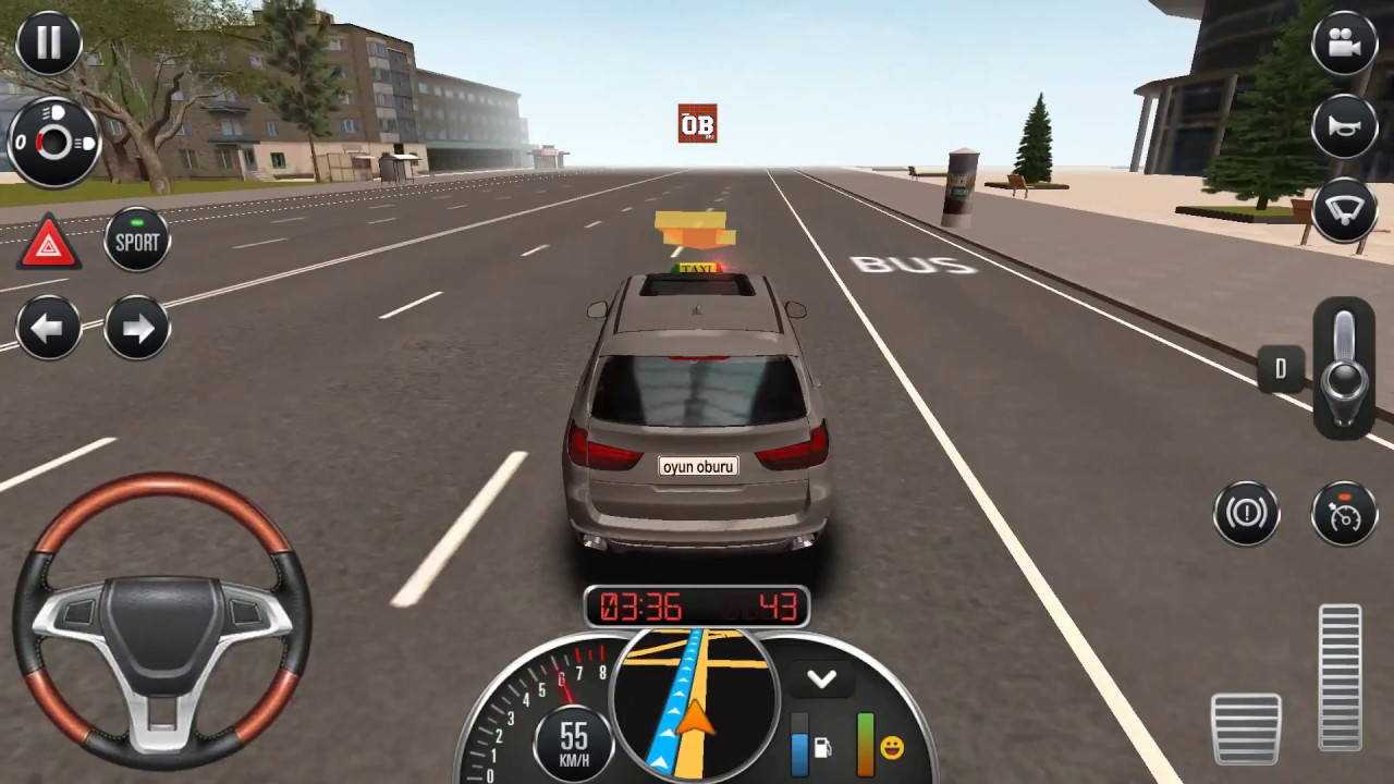 Bmw Araba Surme Oyunu Taksi Simulator Oyun Oyna Youtube