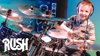 Download TOM SAWYER - RUSH (7 year old Drummer) Drum Cover by Avery Drummer Molek MP3 song and Music Video