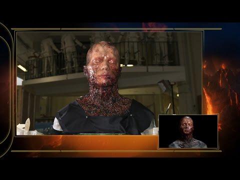 Star Wars Episode III: Burnt Anakin Head Featurette