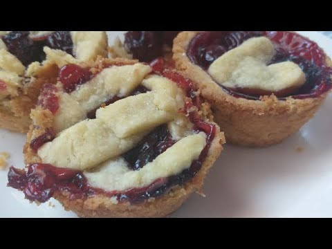 Mini Cherry Pies (Homemade Cherry Pie Filling) (Homemade Pie Crust) (quick And Easy) | Just Anya