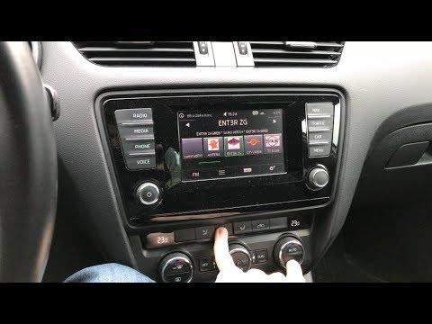 Škoda Octavia 3 - How to reset  calibrate climatronic (AC) flaps