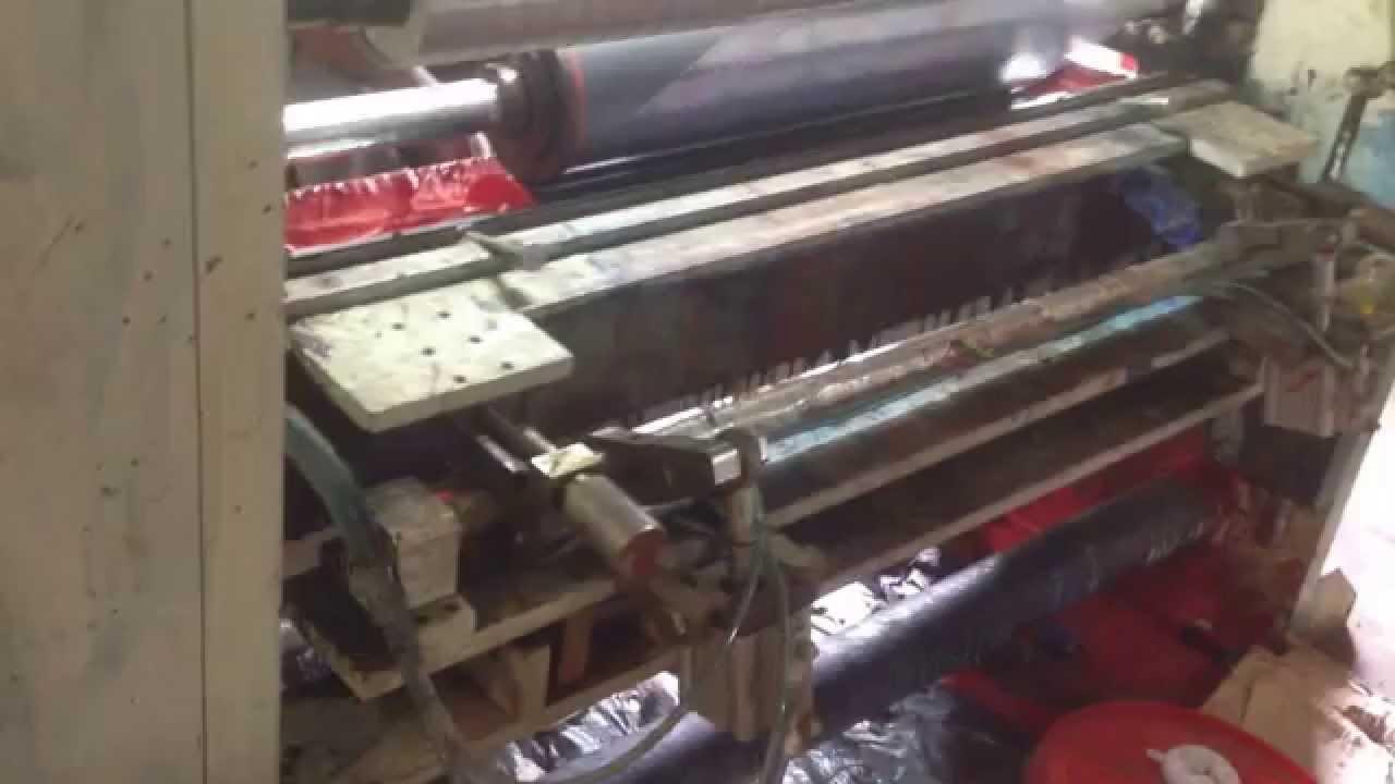 Rotogravure Printing Machine India Youtube Offset Press Diagram Gravure